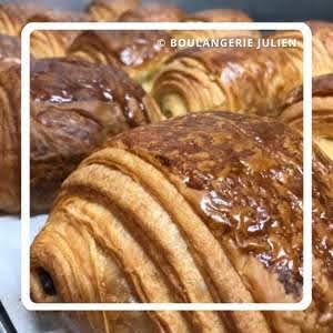 パリのパンオショコラ Boulangerie Jean Noël Julien ブランジェリー・ジャン・ノエル・ジュリアン