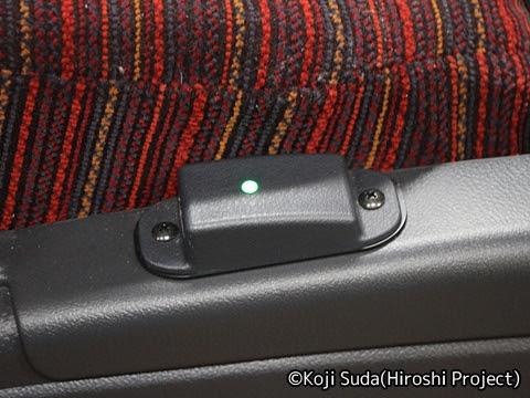 西鉄「桜島号」 1336 USBポート