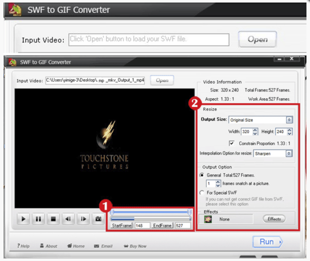 [Free Giveaway] Aoao SWF to GIF Converter v4.1 Registration Code to Convert SWF into GIF