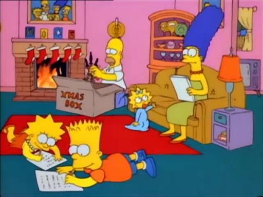 Los Simpsons 1x01 Especial de Navidad