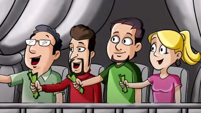 Video cartoon