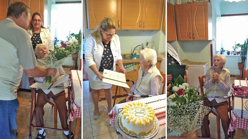 Neugebauer Erzsébet 90 éves