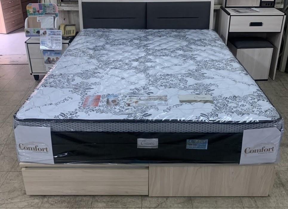 832-01 洛體 三線硬式獨立筒床墊 3.5尺 / 5尺 /  6尺 / 6x7尺
