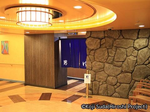 太平洋フェリー「きそ」 5デッキ 展望大浴場入口