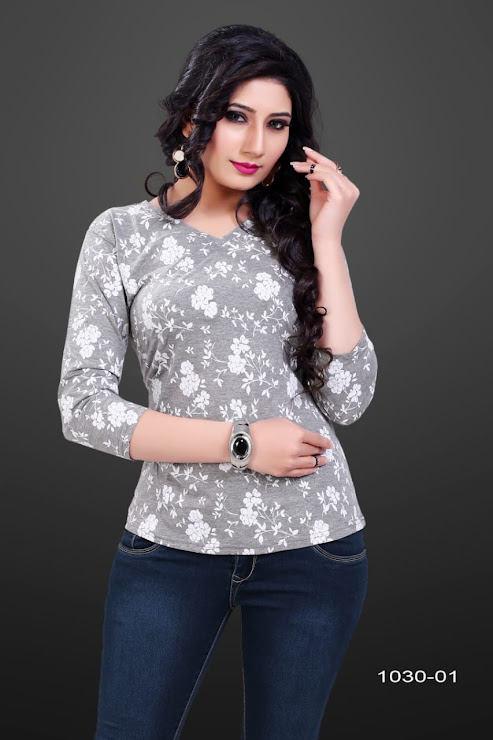 Gati 1030-01 Kavya Girls Tshirt Manufacturer Wholesaler