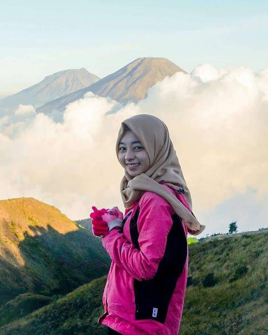 Si cantik Gunung Prau Dieng