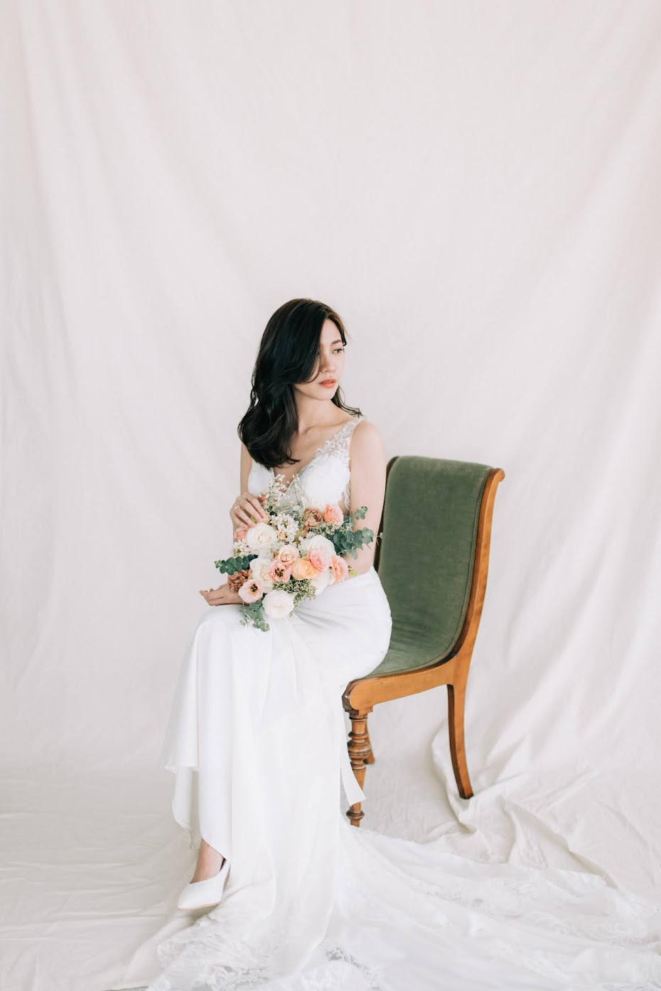 念念婚紗 | Dennis + Felicia Engagement | 優雅簡約美式逐光婚紗