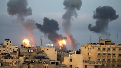 Update Korban Tewas di Gaza Bertambah Jadi 109 Orang, Akibat Gempuran Israel