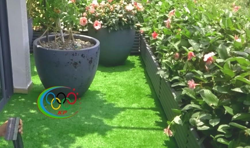 Khung cảnh xanh mát mẻ hơn khi cộng tác Thảm cỏ nhân tạo sân golf