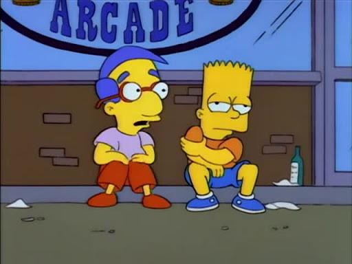 Los Simpsons 5x08 Exploradores a fuerza