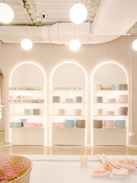 thiết kế nội thất quán cafe hoa
