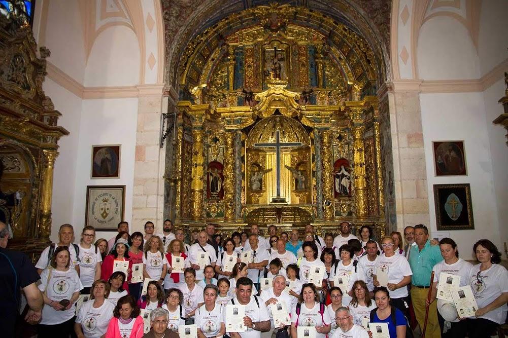 Santa Cruz en su capilla