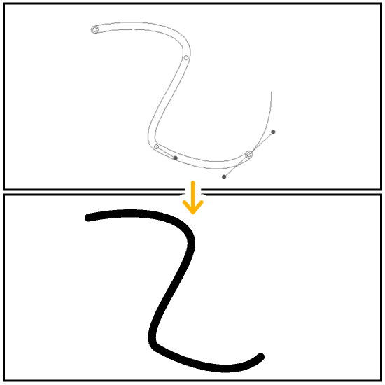 クリスタの図形ツール