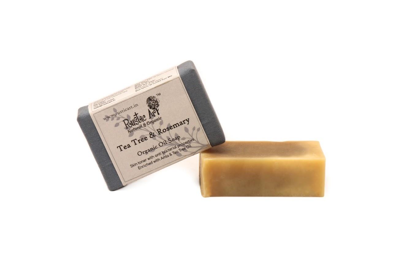 Rustic Art Tea Tree Rosemary Soap
