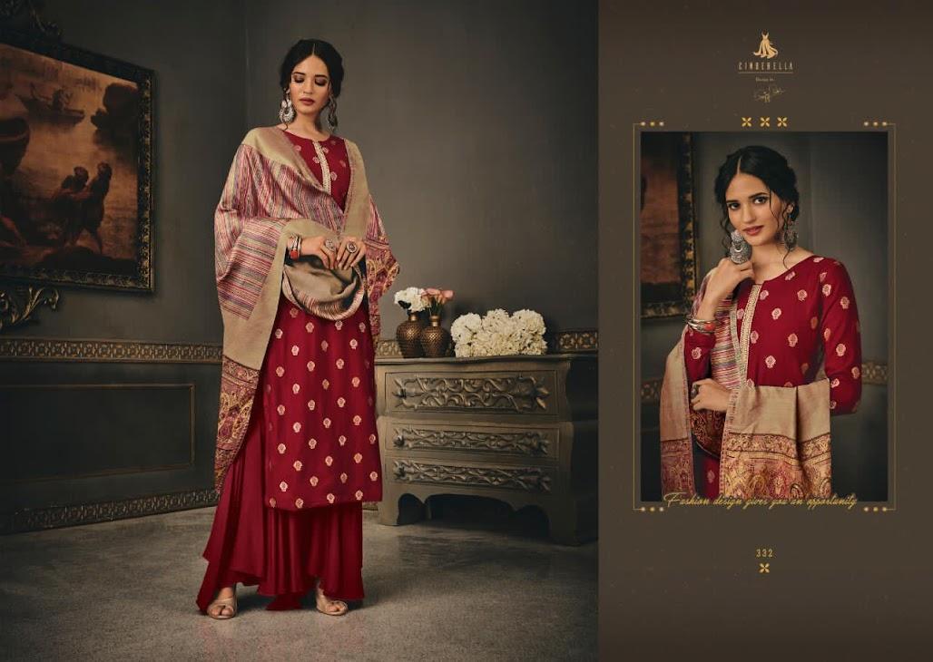 Aayat Cinderella Pashmina Dress Material Manufacturer Wholesaler