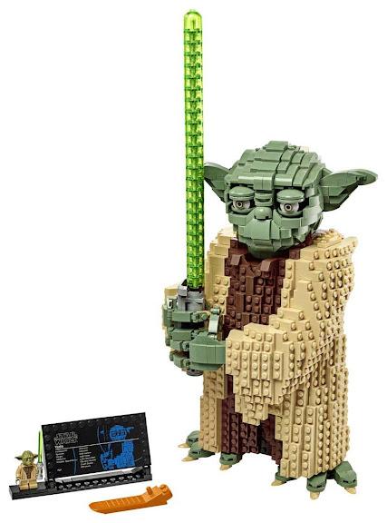 Contenido de Lego® 75255 Yoda