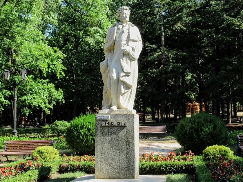 6. Кисловодск. Памятник А.С.Пушкину. 1999. Скульптор  Г.В.Курегян.