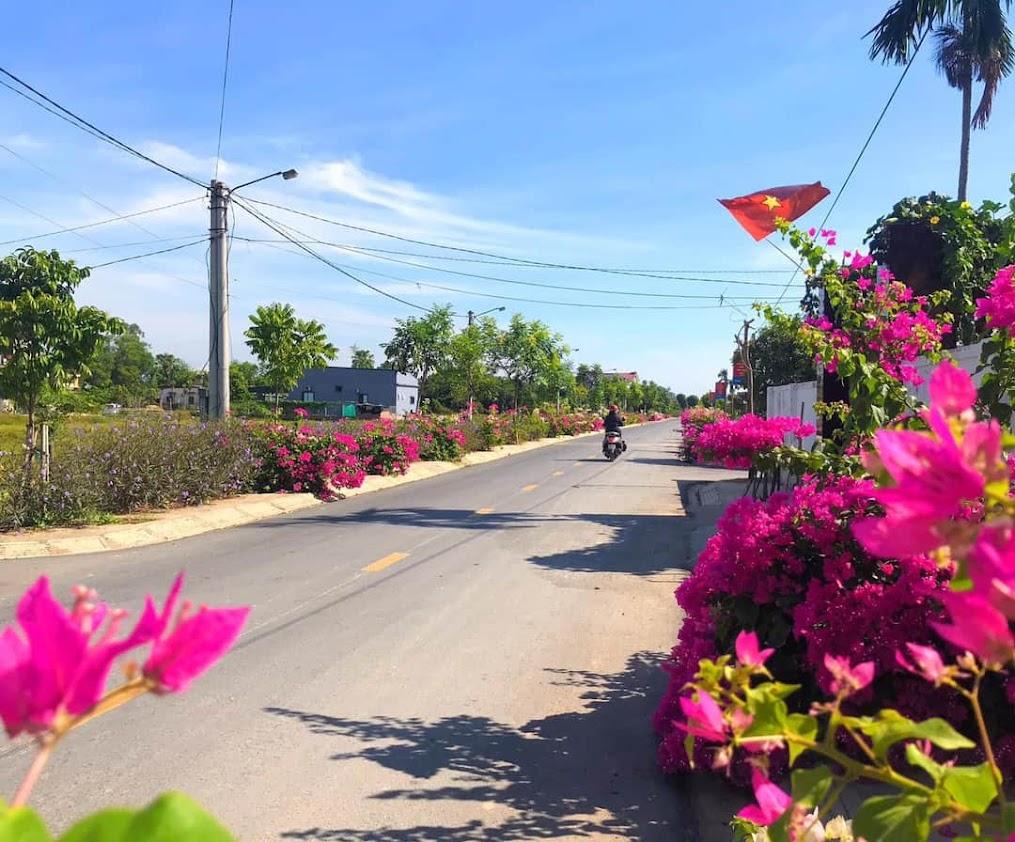Tuyến đường Liên Hương - Tiểu học xanh – sạch – đẹp