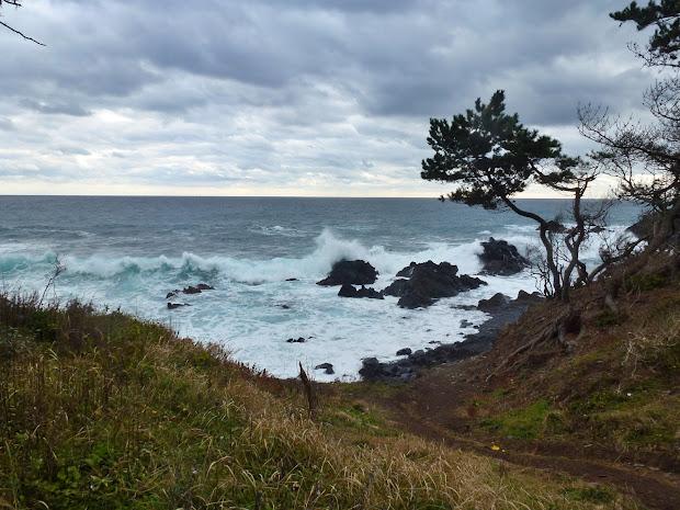 鵜島の碁石海岸 写真1