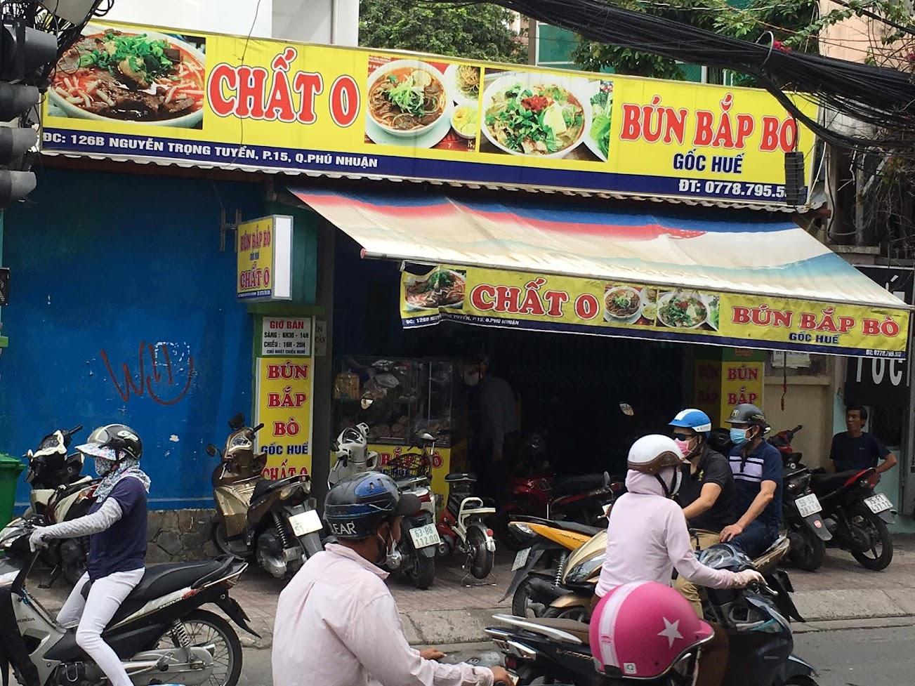 Bún bắp bò Chất O quận Phú Nhuận
