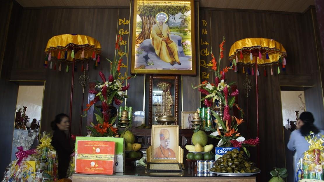 GĐPT Cam Ranh dâng hương tưởng niệm nhân húy nhật của HT Thích Hạnh Phát