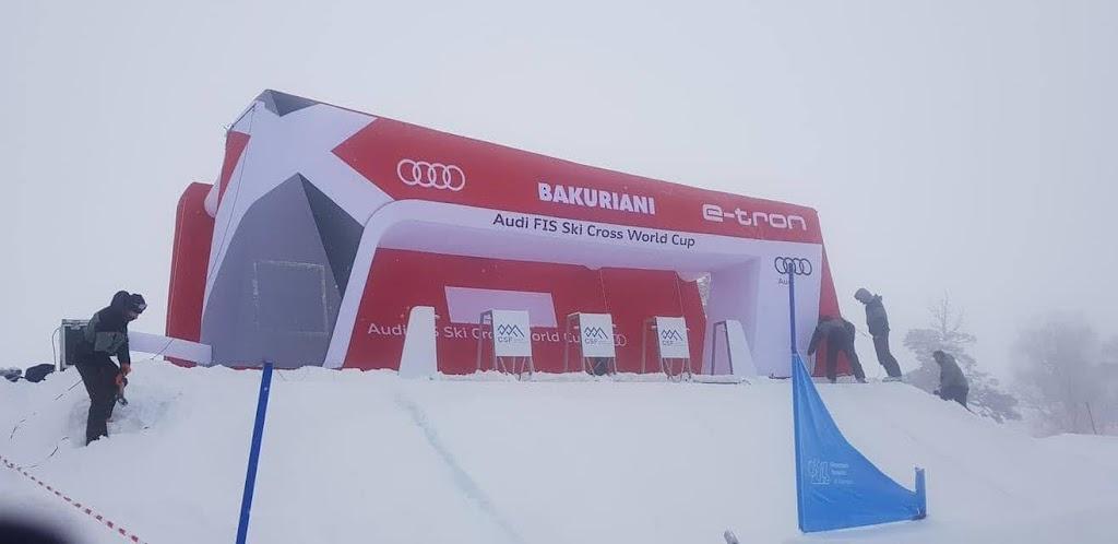 AUDI FIS SKI CROSS WORLD CUP-ი ბაკურიანში