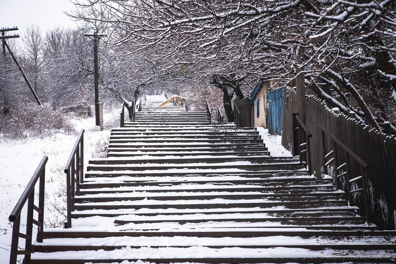 Снігові сходи Лисичанськ
