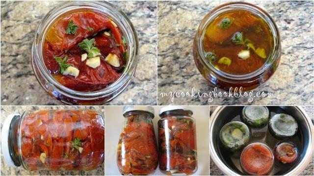 Печени мариновани домати
