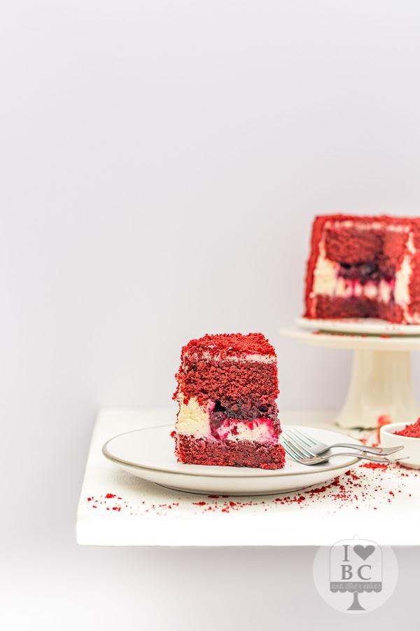 Red Velvet Monster Layer Cake