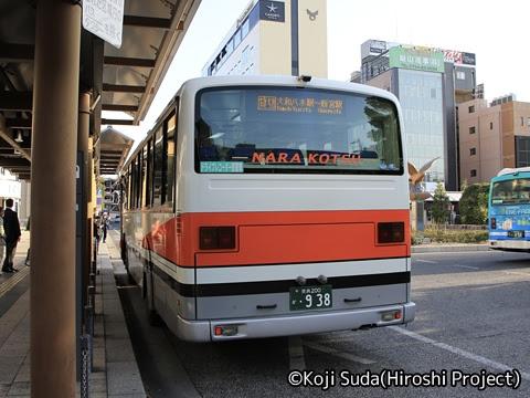 奈良交通「八木新宮線」 ・938 大和八木駅到着_02