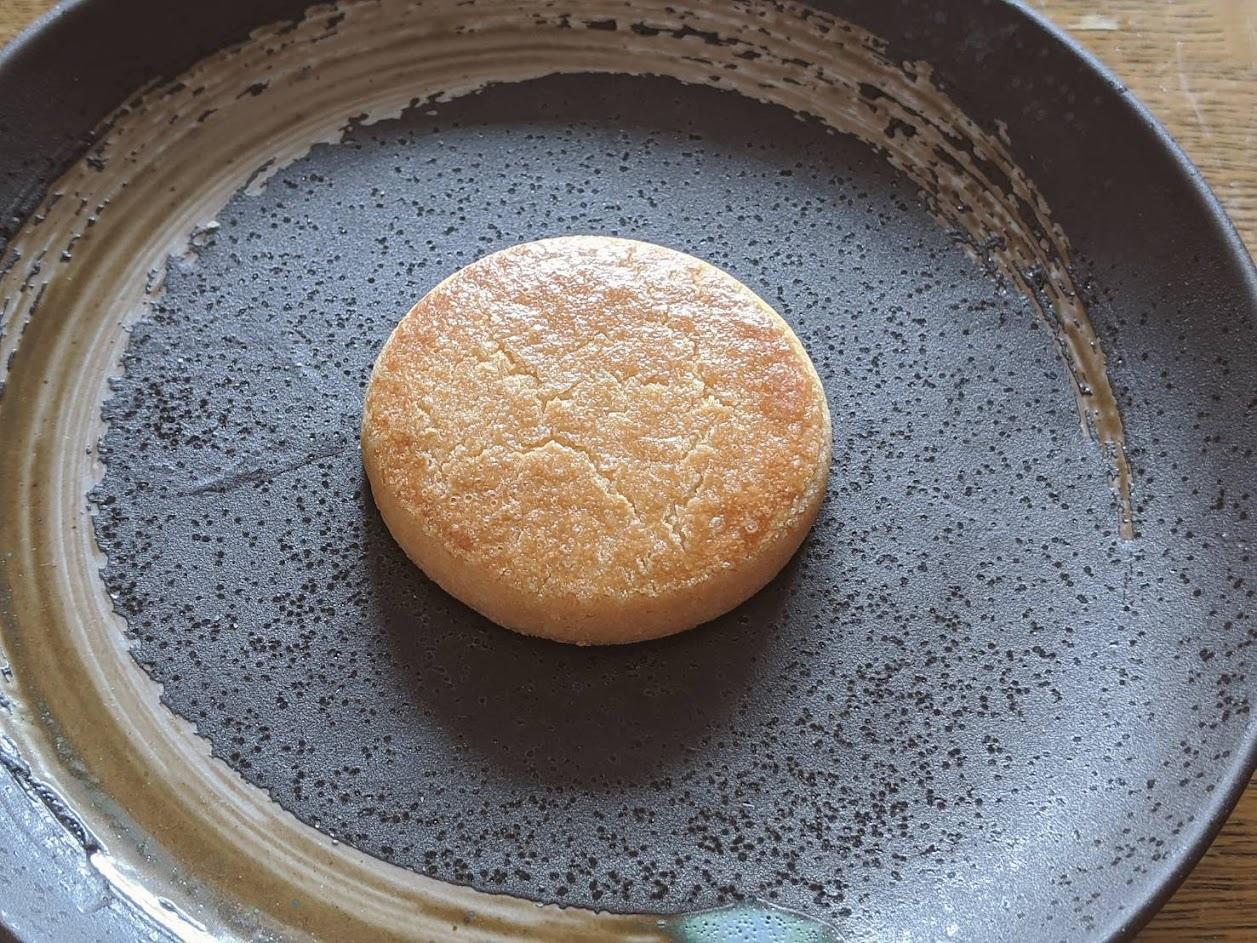 お皿に乗せたソルティの画像