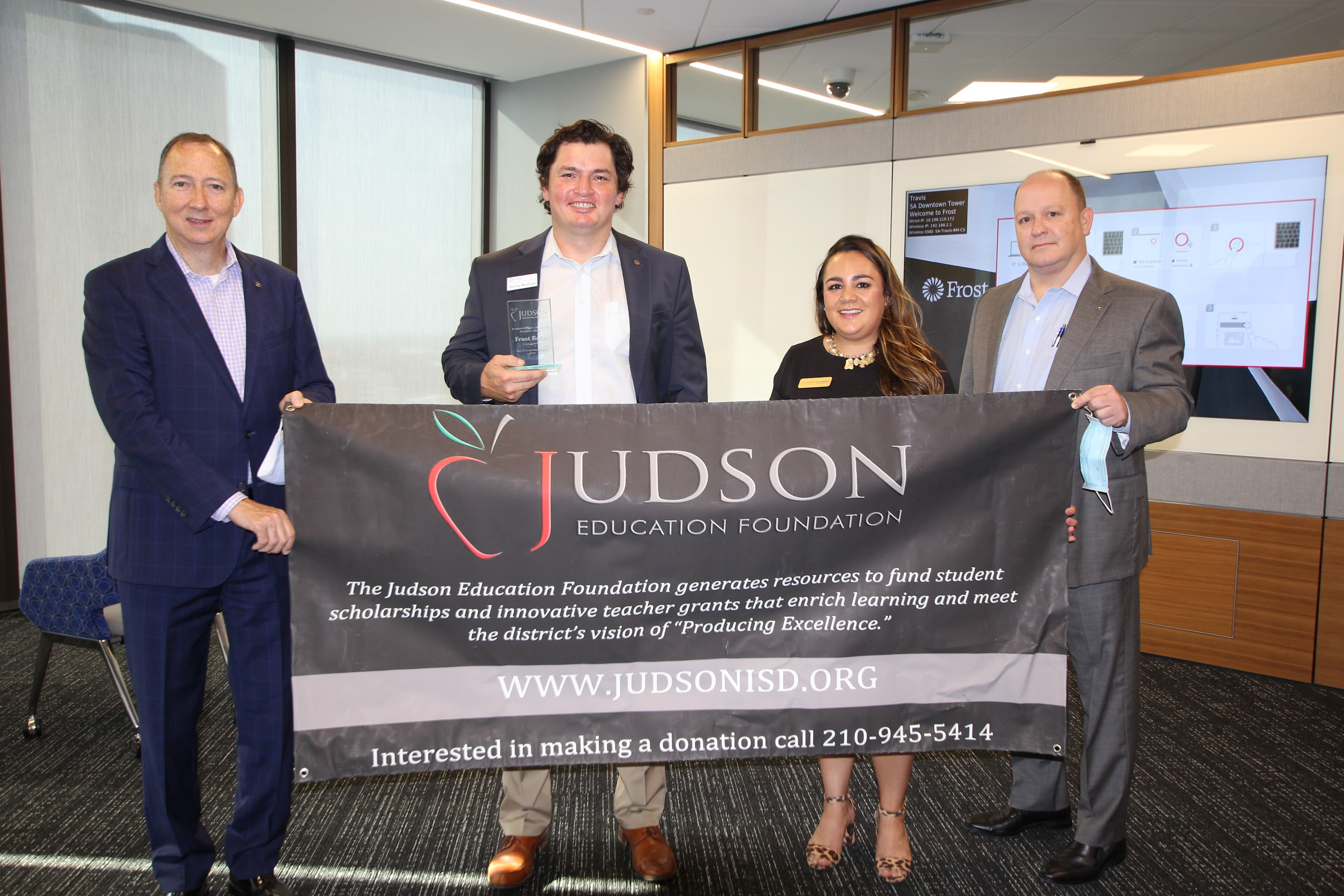 Judson Education Foundation Top 10 Sponsors