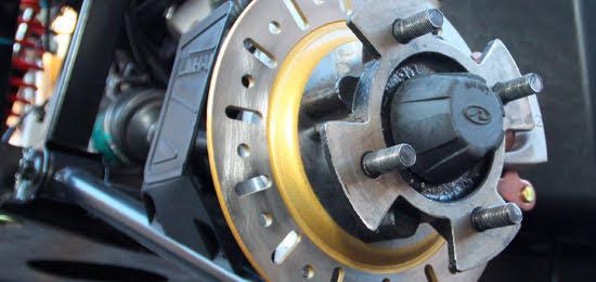 Electric E5 Farm UTV utility vehicle hydraulic disc brakes