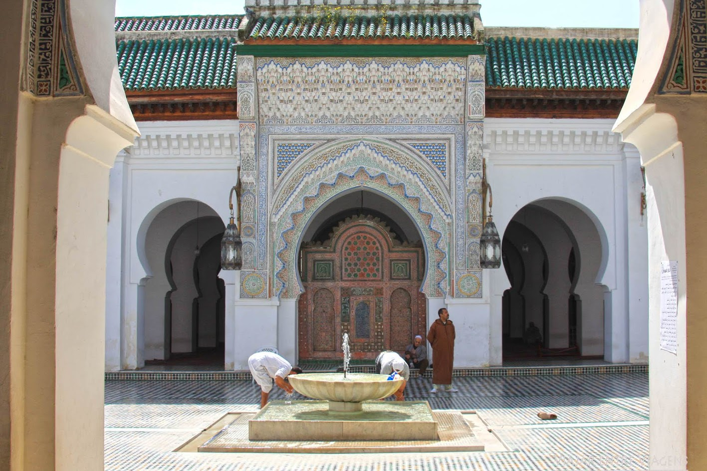 MEDINA DE FEZ - MARROCOS   Os Curtumes da cidade imperial