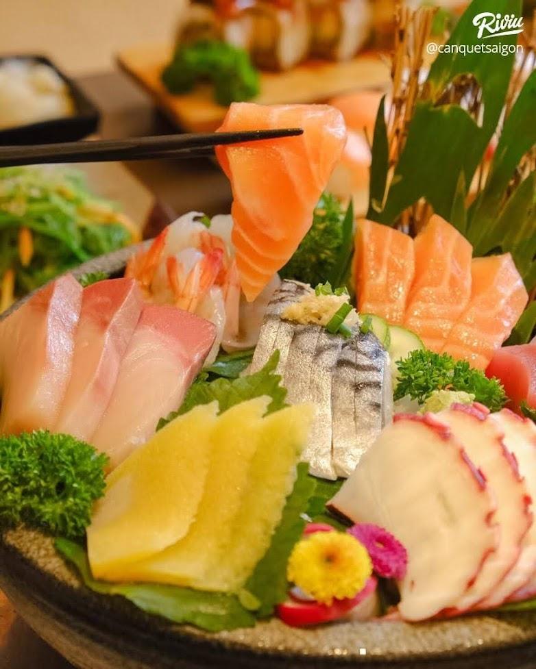 Isushi buffet Nhật Bản - A43 Trường Sơn, Phường 4, Tân Bình