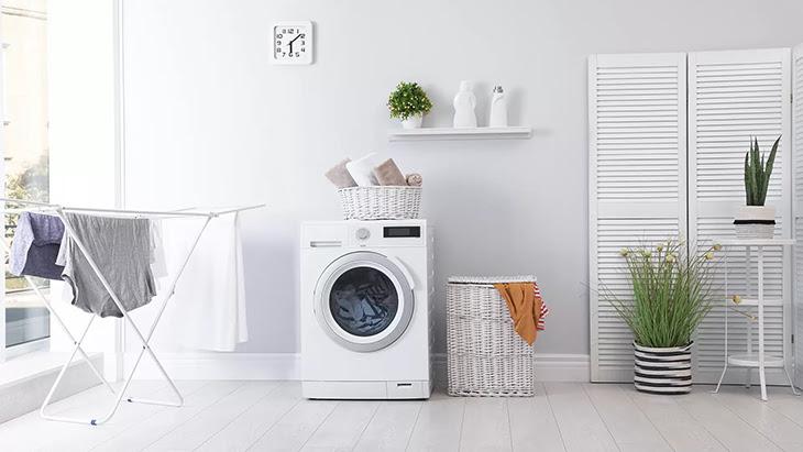 máy giặt có các chức năng giặt bằng nước nóng