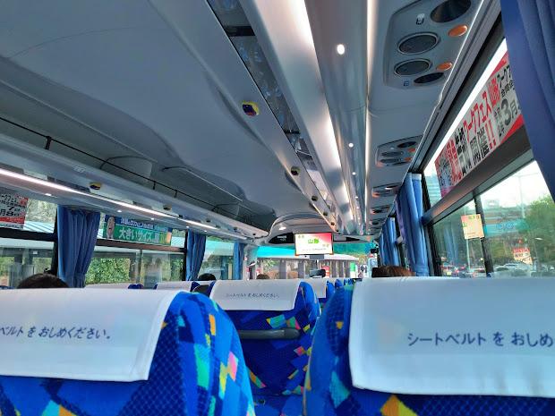 山交バス車内イメージ