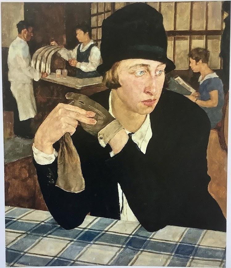 Lotte-Laserstein_In_the_tavern_1927