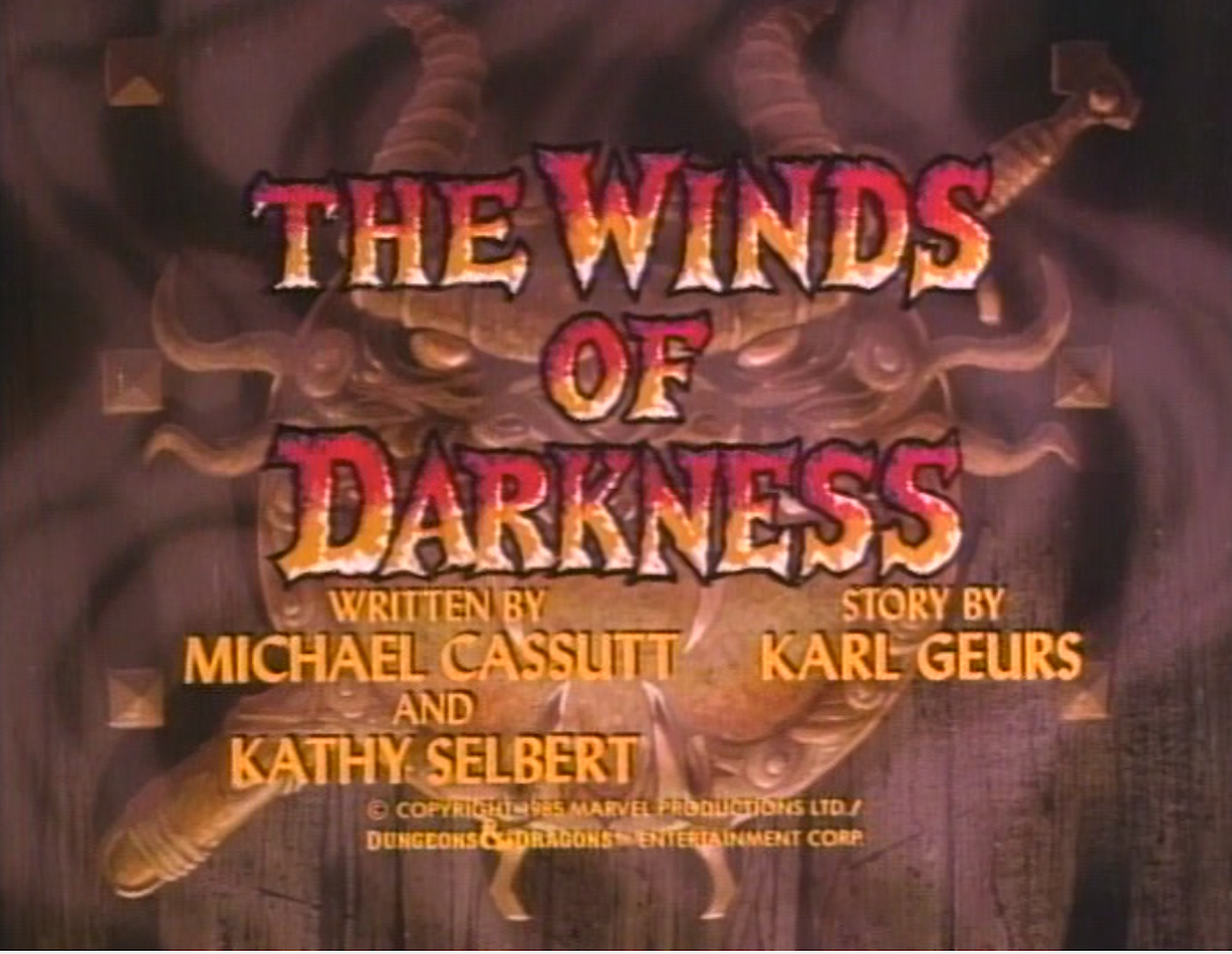 The Winds of Darkness title card