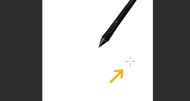 クリスタと液タブでペン位置がずれる現象
