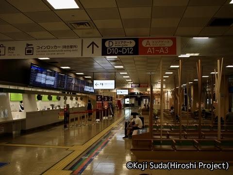 バスタ新宿 4階待合室