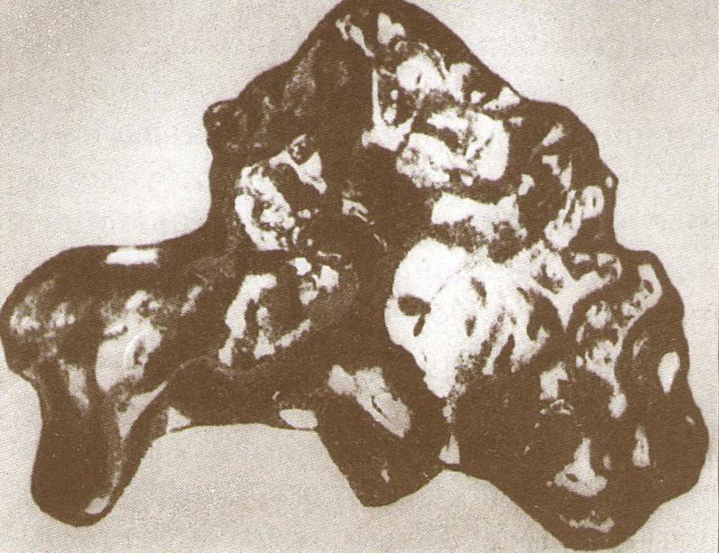 Самородок весом 21.2 кг с Ташкутарганки