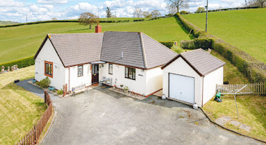 Bettws home with stunning views
