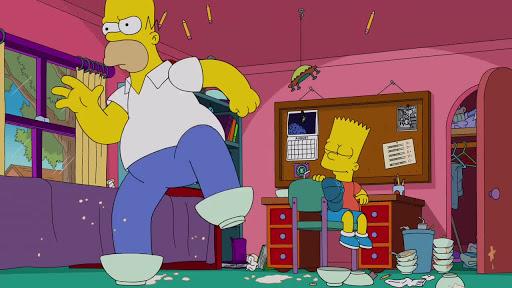 Los Simpsons 26x02 El naufragio de la relación