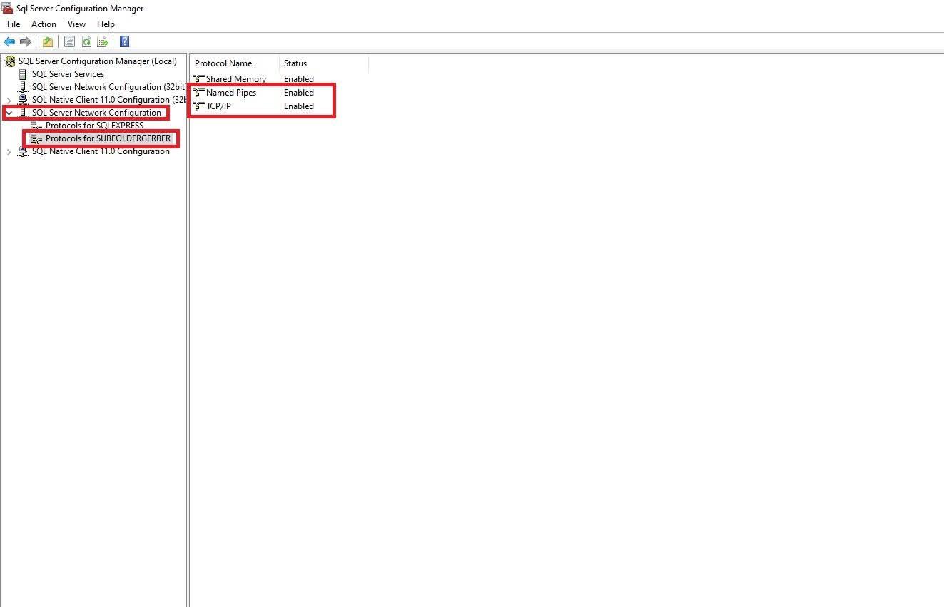Cách Tạo Subfolder Gerber Accumark V10-V11-V12-V13 Sử Dụng SQL Server 28
