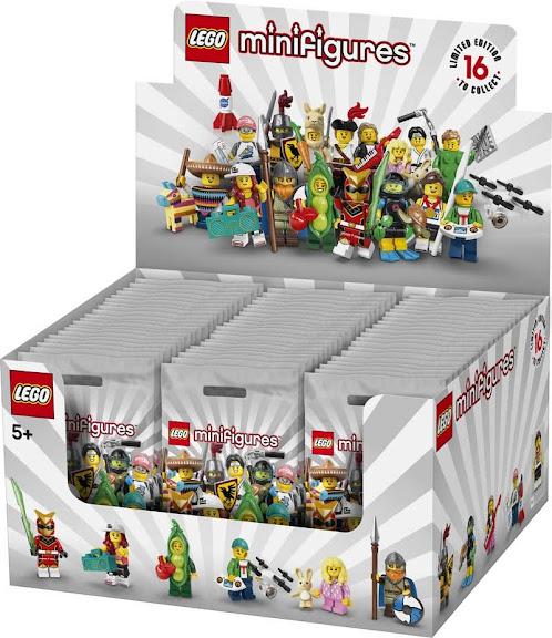 Contenido de Lego® 71027 Sobre Sorpresa 20ª Edición, Caja Completa