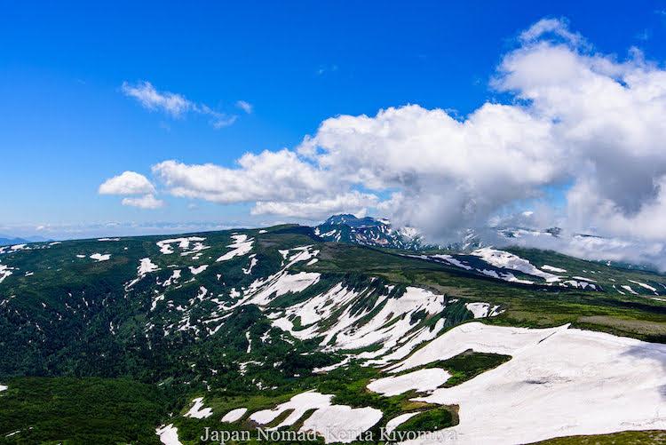 【大雪山】絶景の大雪山縦走&初のテント泊!その2(赤岳~緑岳~白雲岳~黒岳)