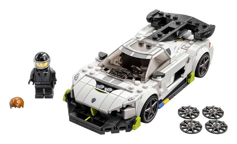 Contenido de LEGO® 76900 Koenigsegg Jesko