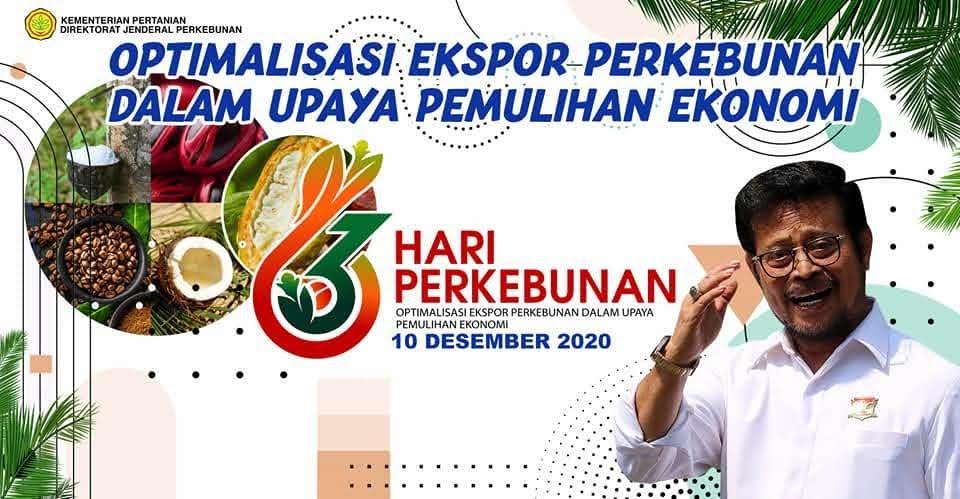 Karantina Pertanian Yogyakarta Lepas Ekspor  Produk Perkebunan di Hari Perkebunan ke -63