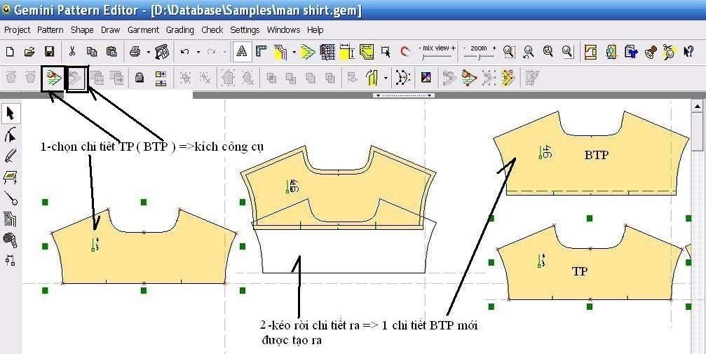 Gemini Pattern Editor Chức Năng Các Lệnh – Phần 2 8